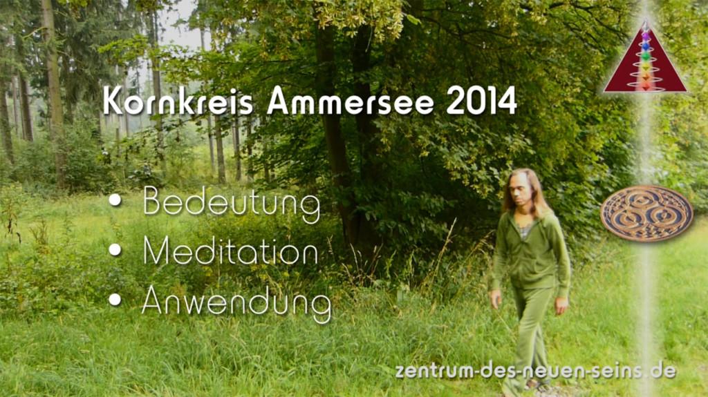 Hier ist das Startbild des Videos: Der Kornkreis am Ammersee 2014