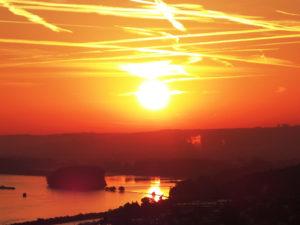 Göttliche Absichten transformieren ist wie ein Sonnenaufgang in Deinem Leben.